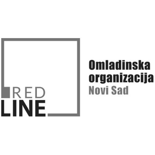 red line bw