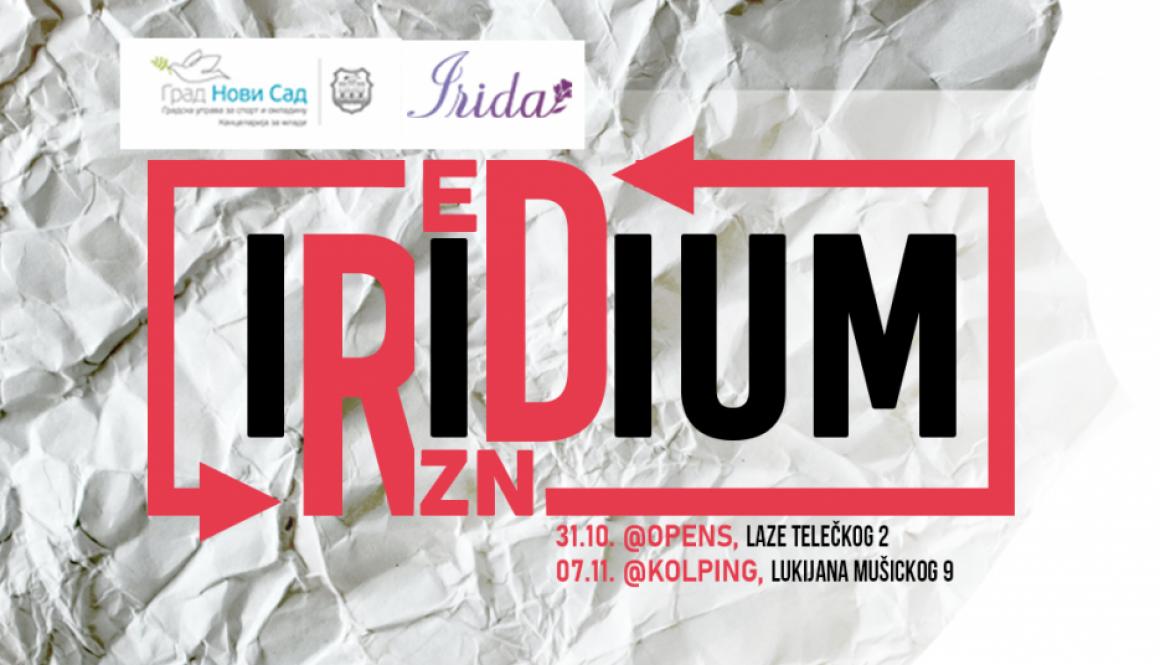 IRIDIUM crveni fb- veci logo - event - Irida Organizacija